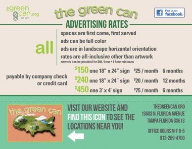 Green can rates