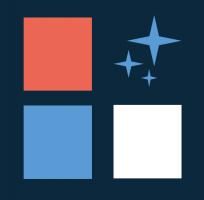 icon blue background