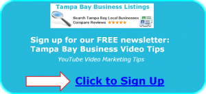 Tampa Bay Business Video Tips
